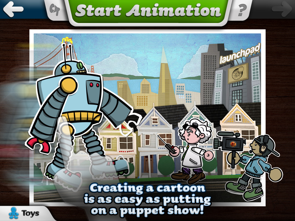 Toontastic - Create & Share Cartoons Screenshot