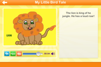 Little Bird Tales - Easy Digital Stories For Kids Screenshot