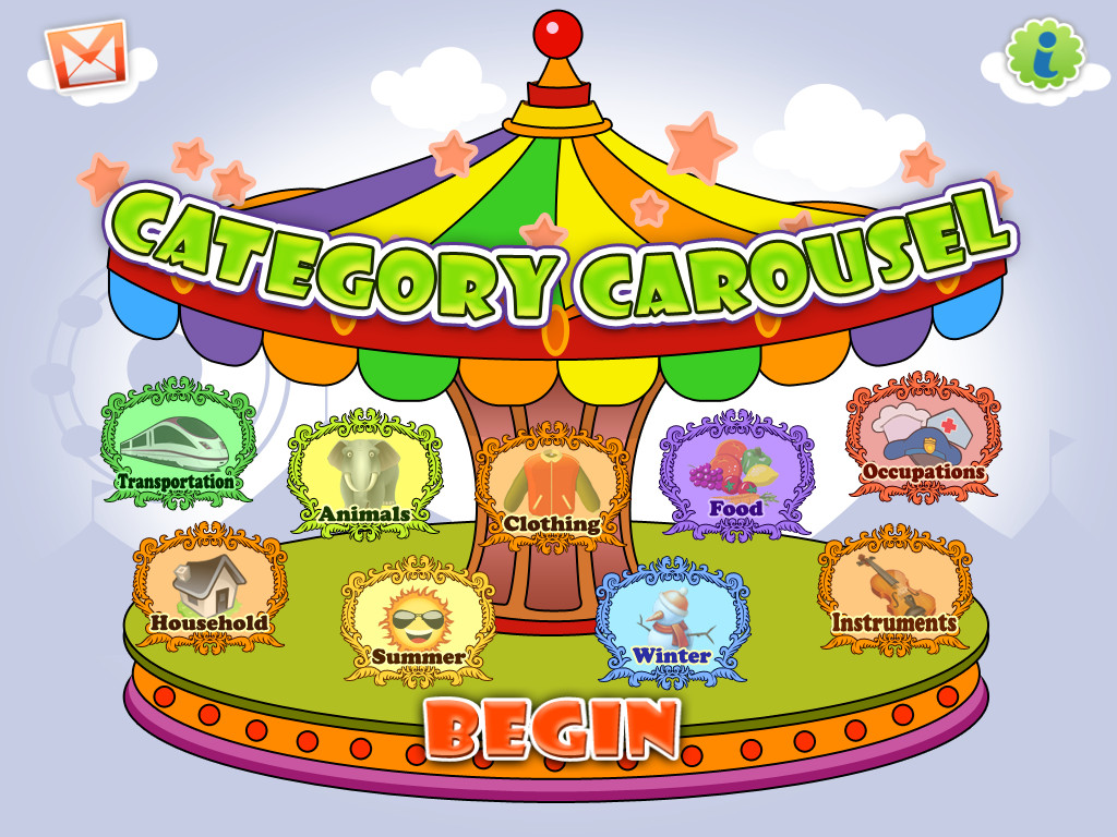 Category Carousel Screenshot