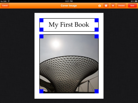 Creative Book Builder Screenshot