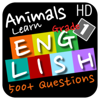 Animals Learn English - First Grade app icon
