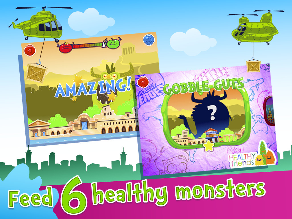Healthy Heroes 1 - Nutrition for Kids Screenshot