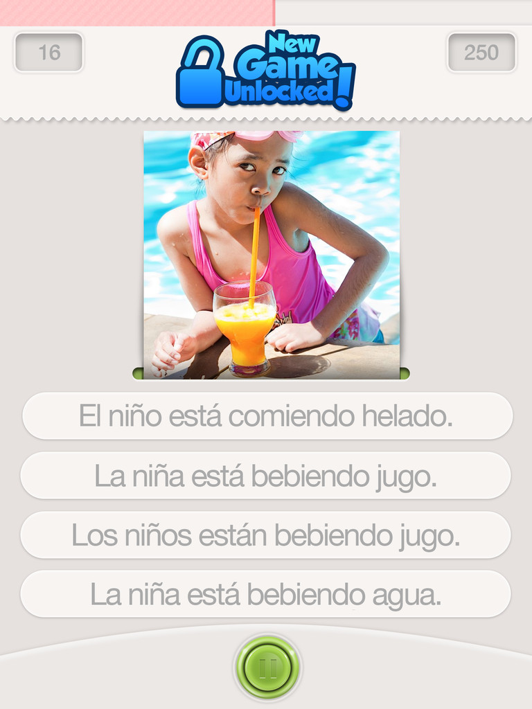 Learn Spanish with Lingo Arcade Screenshot