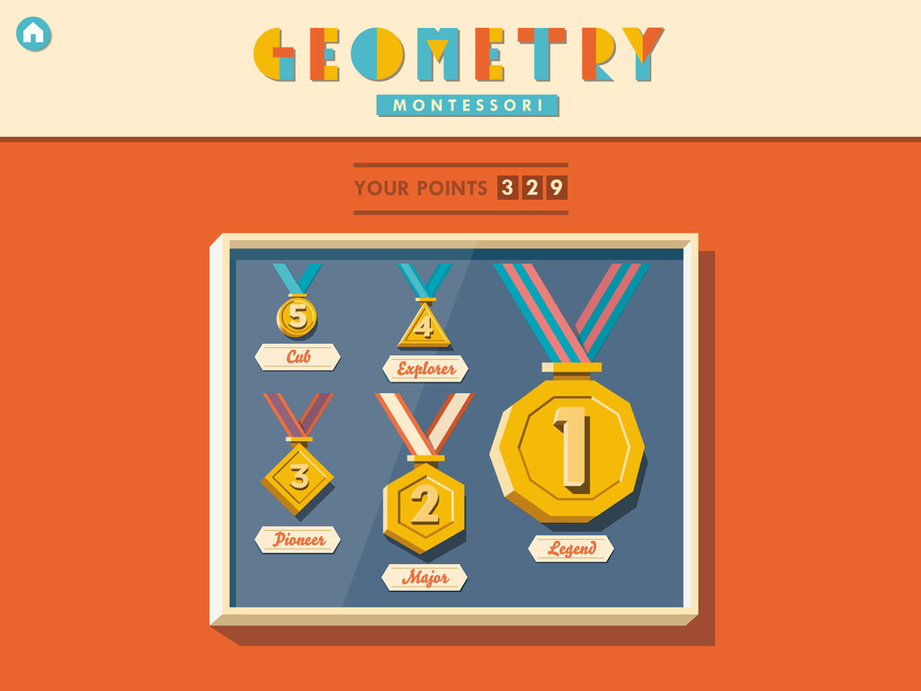 Montessori Geometry -  Recognize and learn shapes Screenshot