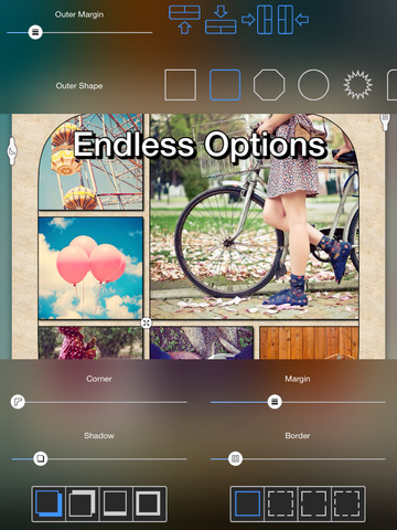 PolyFrame - All In One Collage Maker Screenshot
