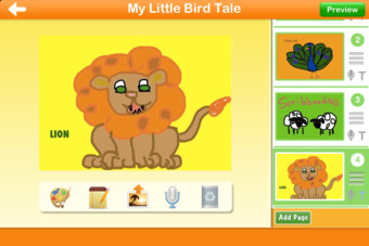 Little Bird Tales: Free Digital Storytelling, Presentations and Lessons with Audio for Kids Screenshot
