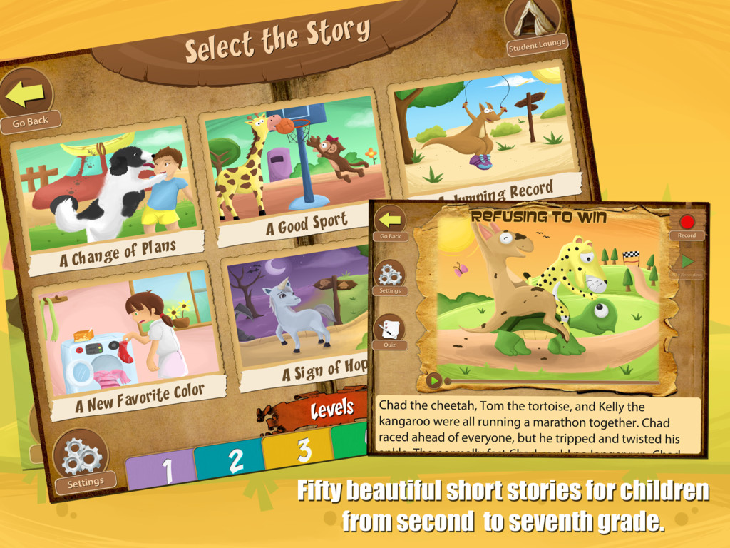 Reading Comprehension Camp Screenshot