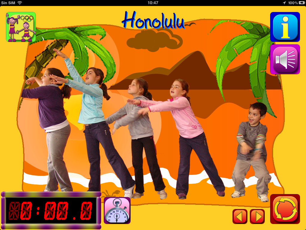 FitnessKids Screenshot