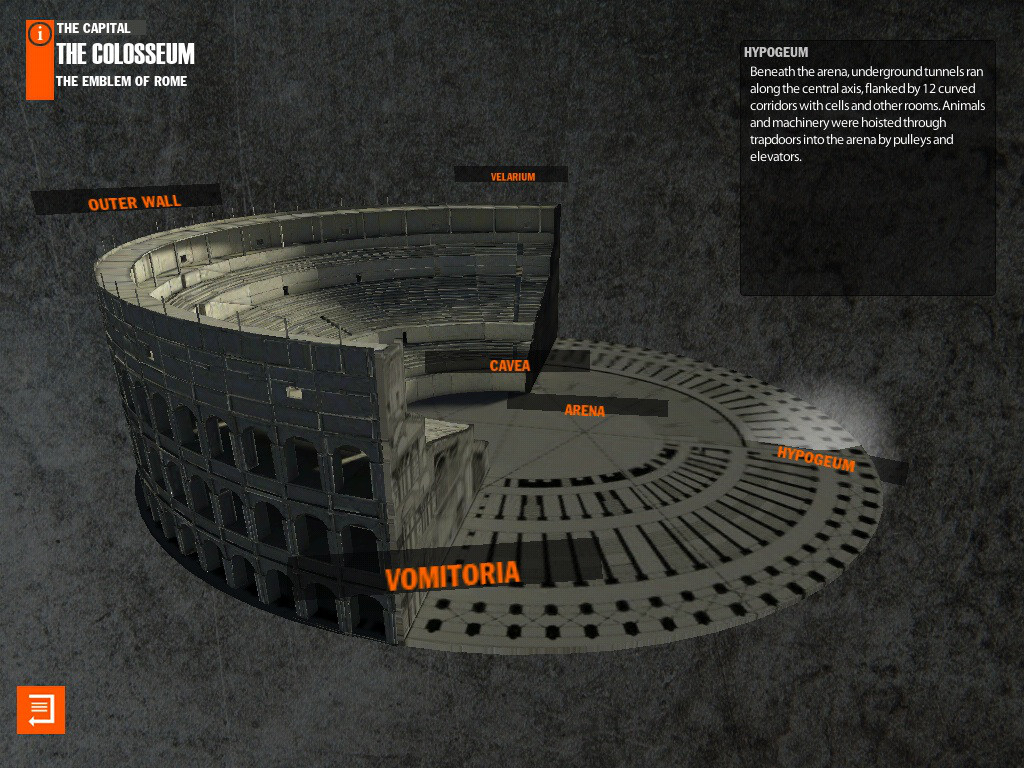 Virtual History ROMA Screenshot