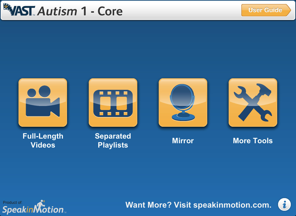 VAST Autism 1 - Core Screenshot