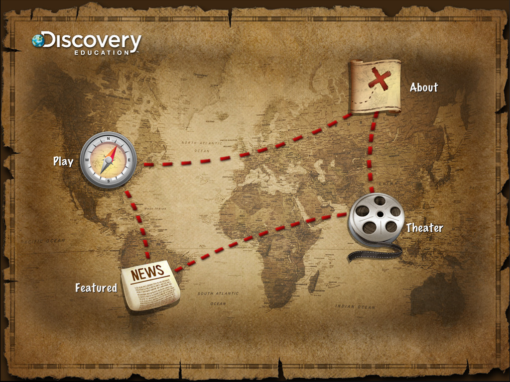 U.S. Geography by Discovery Education iPad Edition Screenshot