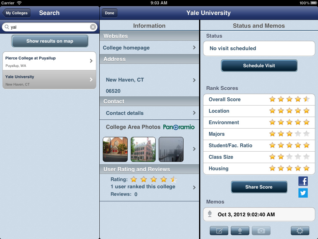 Campuseek Screenshot