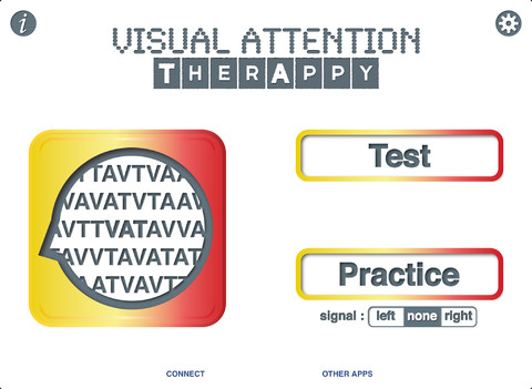 Visual Attention Therapy - Cognitive Training Screenshot