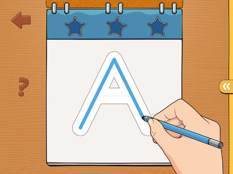 iTrace — handwriting for kids Screenshot