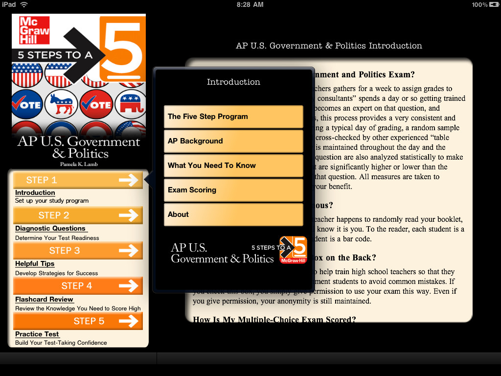 AP U.S. Government & Politics 5 Steps to a 5 Screenshot